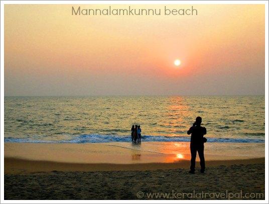 Mannalam kunnu beach